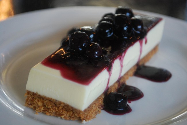 Goats Curd Cheese Cake - Giant Steps Winery AUD11 - photo by Julia | © Alpha/Flickr