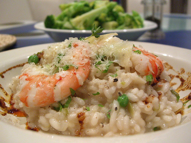 Prawn Risotto [ © Alpha|Flickr ]