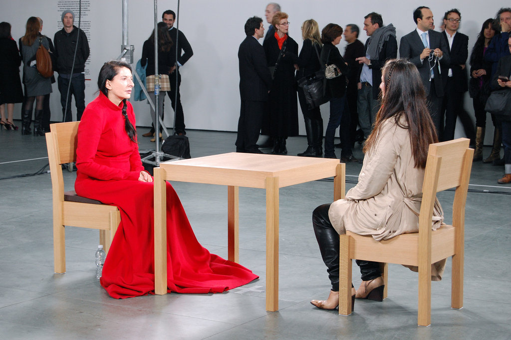 Marina Abramović, The Artist Is Present, 2010 | © Andrew Russeth/Flickr
