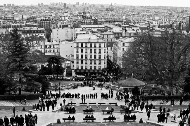 View from Sacré-Coeur, Montmartre | © Benjamin Bousquet/Flickr