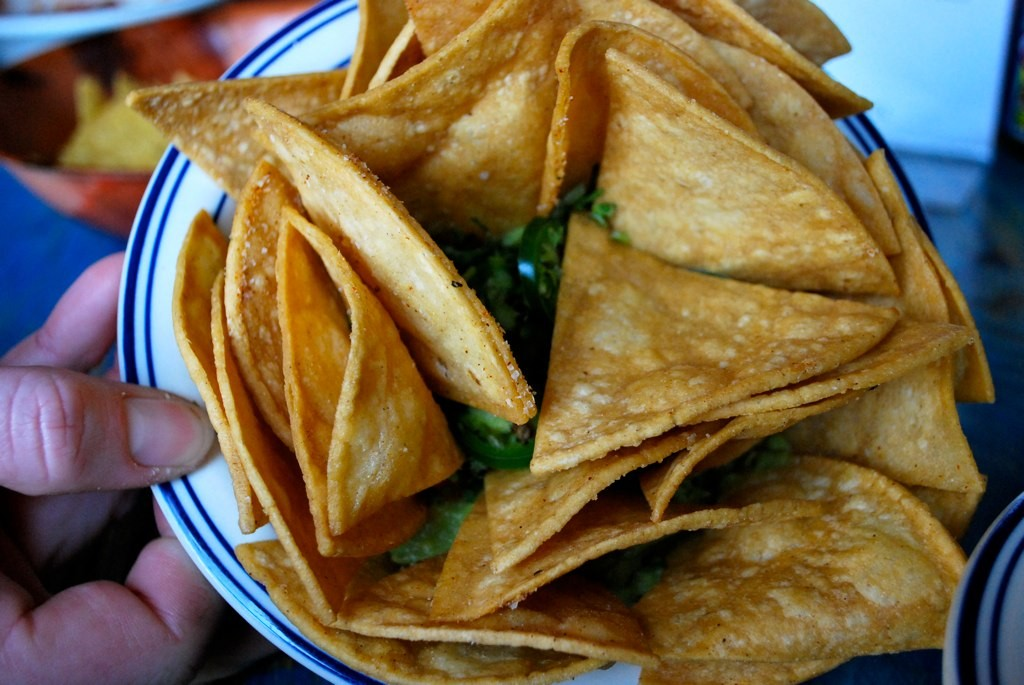Guacamole and chips, at Dos Segundos ©Jessica Rossi