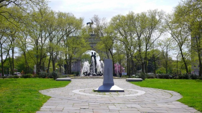 Grand Army Plaza in springtime © Matthew Rutledge/Flickr