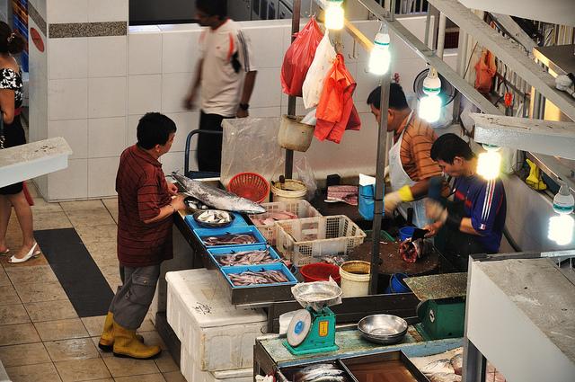 Tiong Bahru Market I © Steve Calcott/Flickr