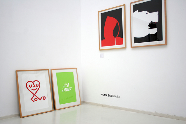 Noma Bar exhibition | © Trapped In Suburbia / Flikr