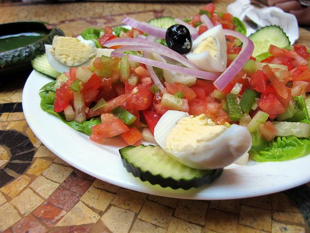 Moroccan salad I © wEnDy/Flickr