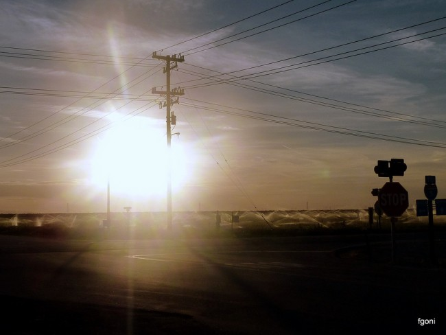 Cruce de caminos en Bakersfield-California © Fernando Goñi Erice/flickr