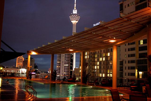 Pool - The Ascott Kuala Lumpur | © Phalinn Ooi/Flickr