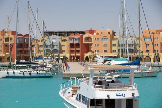 Hurghada Marina Boulevard | © Konstantin Zamkov/Flickr