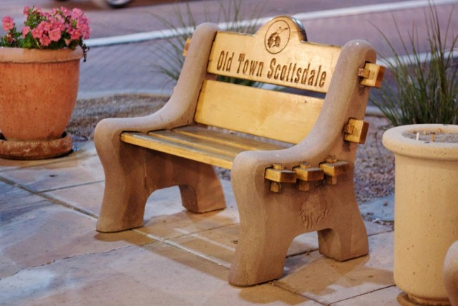 A Place to Rest in Old Town Scottsdale © Dru Bloomfield/Flickr