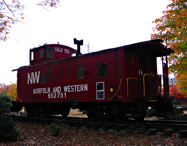 NW Caboose | © MatthewNichols/Flickr
