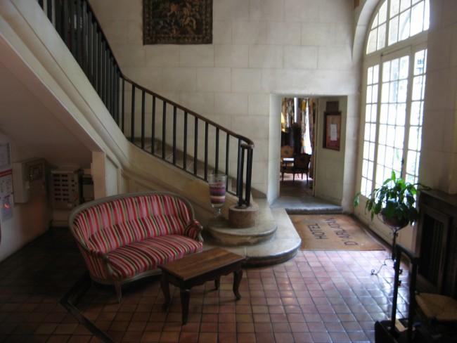 Lobby of the Hotel D'Arlatan, Arles © erodcust/Flickr