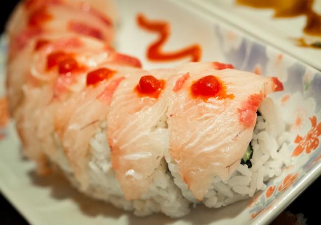 Hamachi wrapped spicy ahi   © photoskate/Flickr