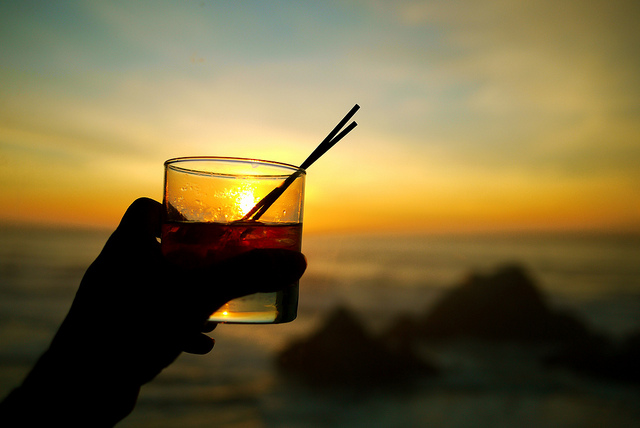 I'll drink to that © Sarah Murray/Flickr