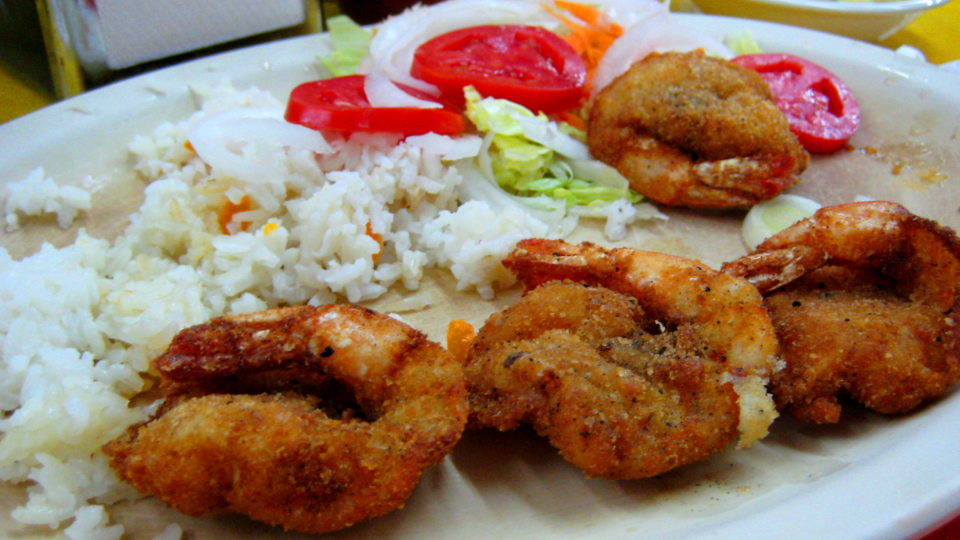 Rice and Shrimp © Monica Wong/flickr