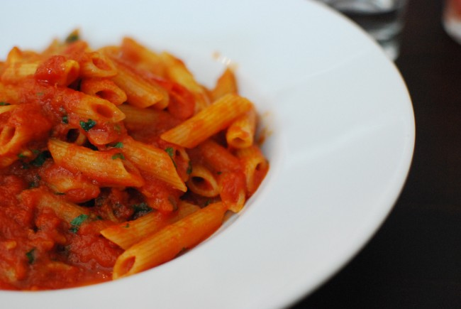 Penne All'arrabiata © Yasmina Haryono