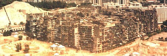 Paradise In Trouble Kowloon Walled City The Densest