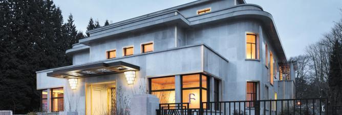 Villa empain a hidden art deco gem in brussels for Deco interieur villa