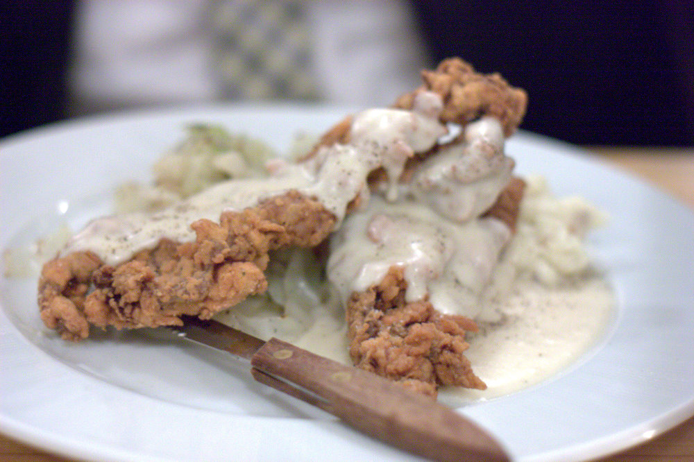 chicken-fried steak ©Krista