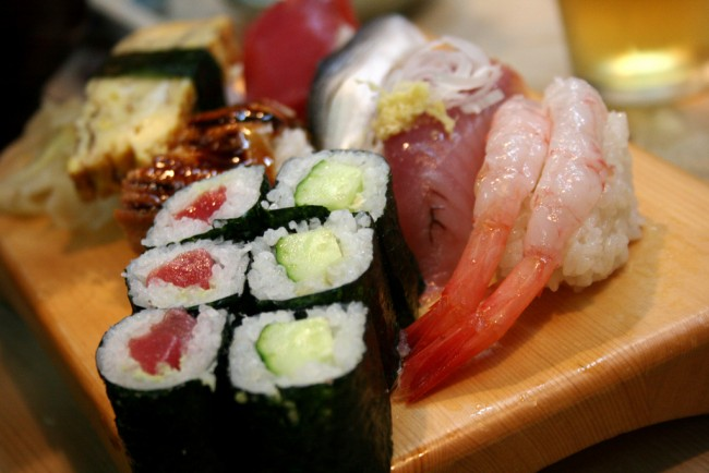 Sushi | © Paul Miller/Flickr