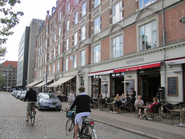 Biking thru Vesterbro © La Citta Vita/Flickr