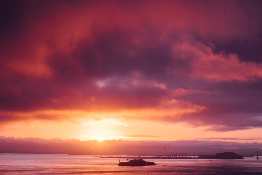 Sunrise from Slacker Hill © Sasha Zvereva