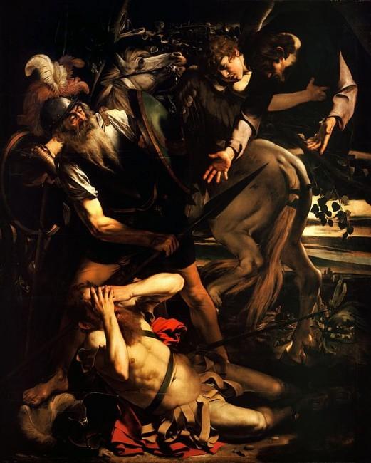 Caravaggio, The Conversion of St. Paul, 1600-1601 | © Caravaggio/WikiCommons