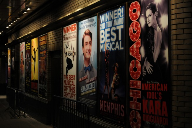 Broadway Posters | © Broadway Tour/Flickr