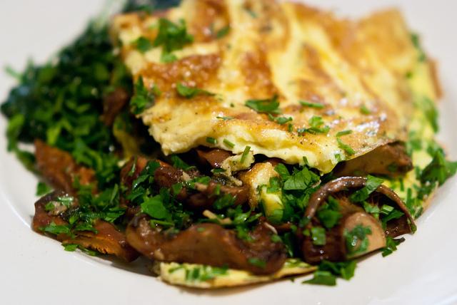 Mushroom Omelette|© Stijn Nieuwendijk Flickr