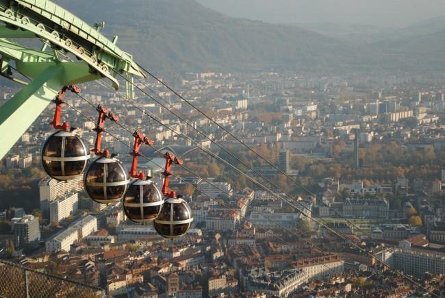 Teleférico Grenoble   © Vinicius Pinheiro / Flickr