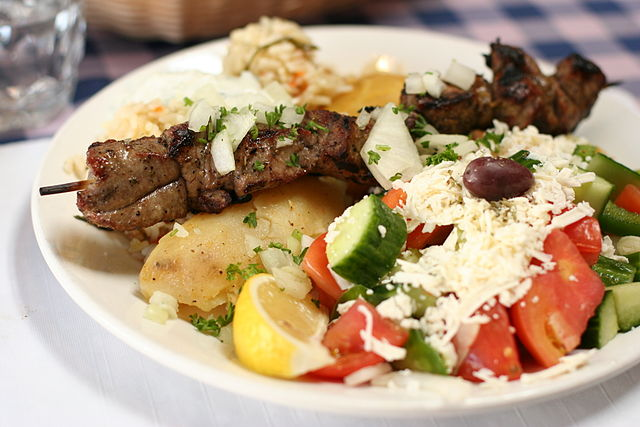 Lamb Souvlaki | © Geoff Peters / WikiCommons