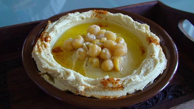 Lebanese Style Hummus | © Mr Hassan/Wikicommons