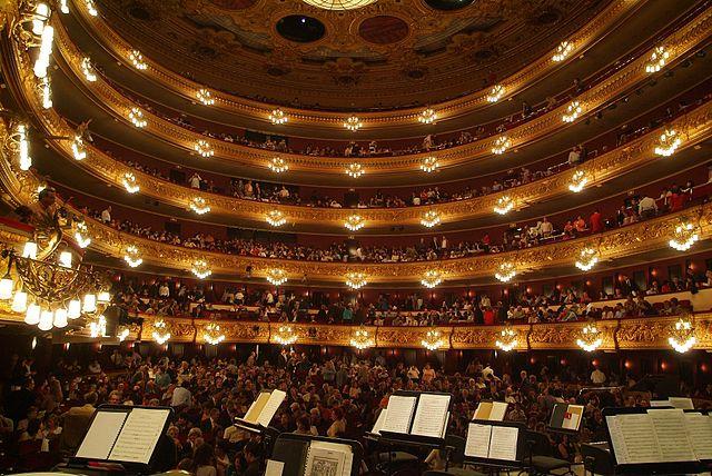 Liceu – Interior | © Josep Renalias/WikiCommons