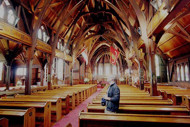 Old St Paul's, Wellington | © Bruce Tuten/Wikicommons