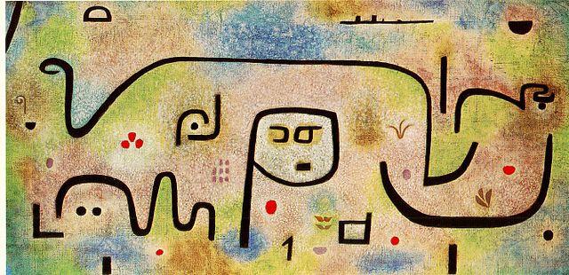Paul Klee, Insula dulcamara | © WikiCommons