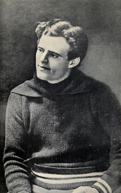 Jack London   © The Book of Jack London by Charmian London/WikiCommons