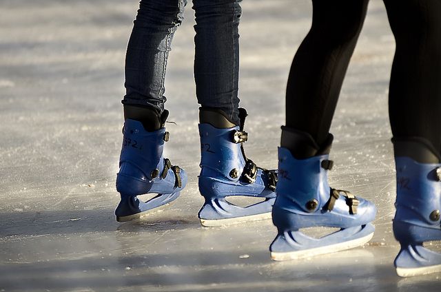 Skating at the icerink | © Valters Krontals/Flickr
