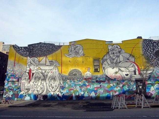 Williamsburg Mural, Brooklyn © Allison Meier/Flickr