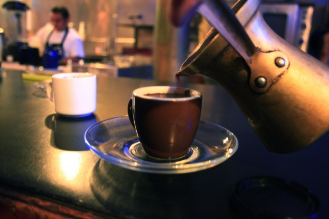 Turkish Coffee at Cafe International | © Jaina Teeluck/Flickr