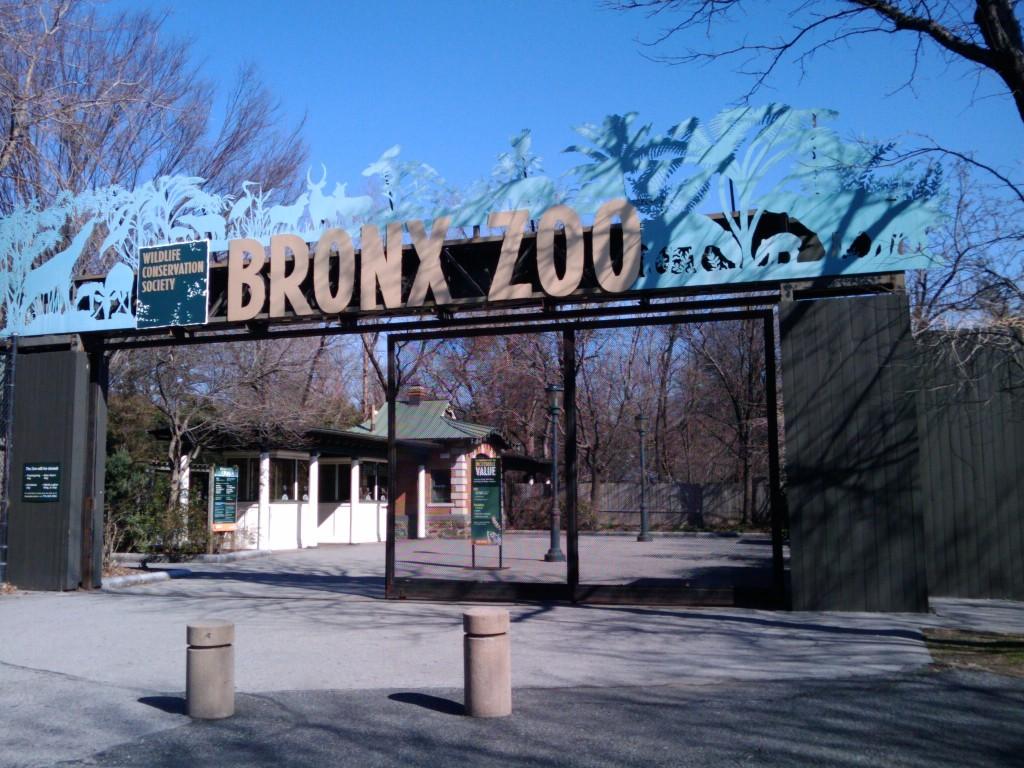 Bronx Zoo: Sign ©Ingrid Richter