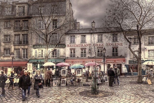 Place du Tetre, Montmartre | © Jack Torcello/Flickr
