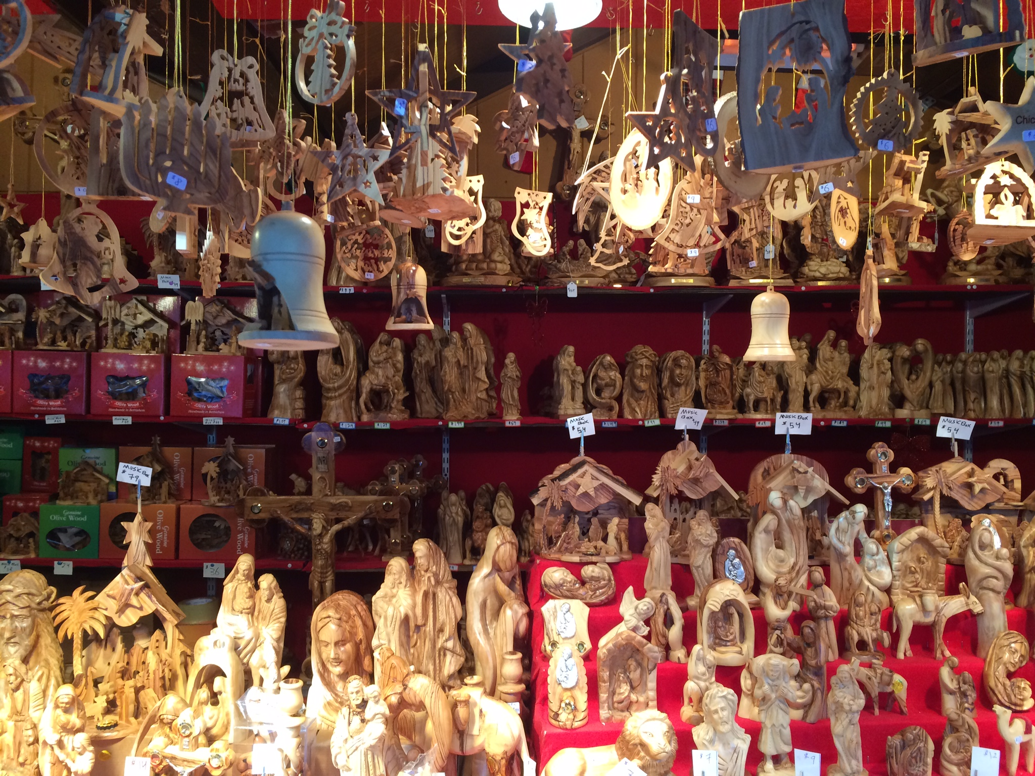 Figures and Ornaments from Bethlehem Nativity Products | © Benita Gingerella