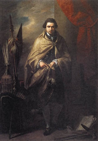 Sir Joseph Banks by Benjamin West |© mydailyartdisplay.wordpress.com