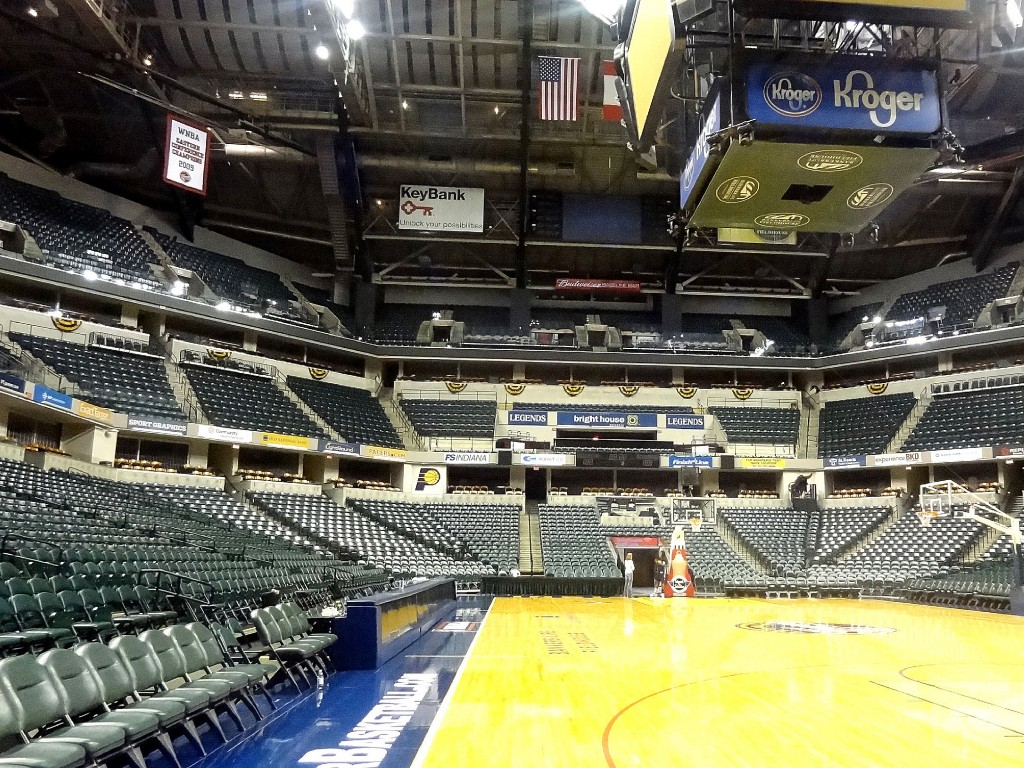 Bankers Life Fieldhouse © Bill Stanley
