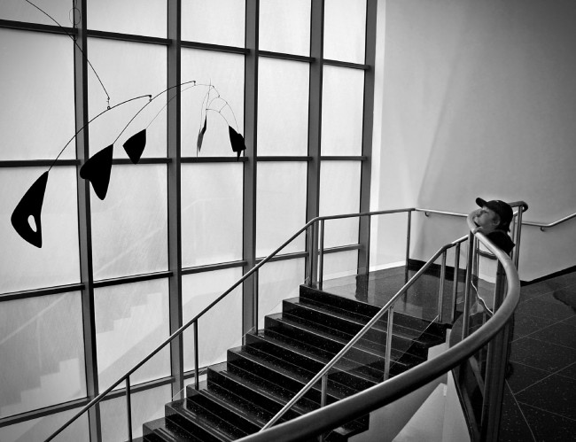 Boy with Alexander Calder Sculpture | ©Dimitry B./Flickr