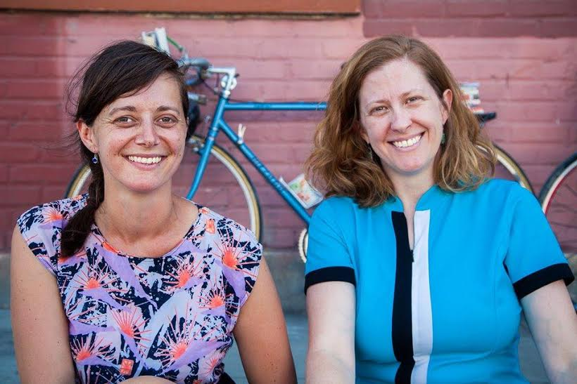 From left to right, F.L.O.W. founders Jenn Witte and Dawn Finley   © Randy Perry