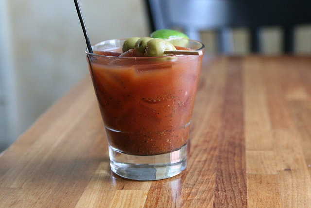 Fish Restaurant's Bloody Mary | © Susan Lucas Hoffman / Flickr