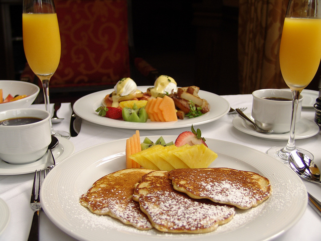 Pancake Breakfast, The Orchards Hotel - Williamstown | © Massachusetts Office of Travel & Tourism/Flickr