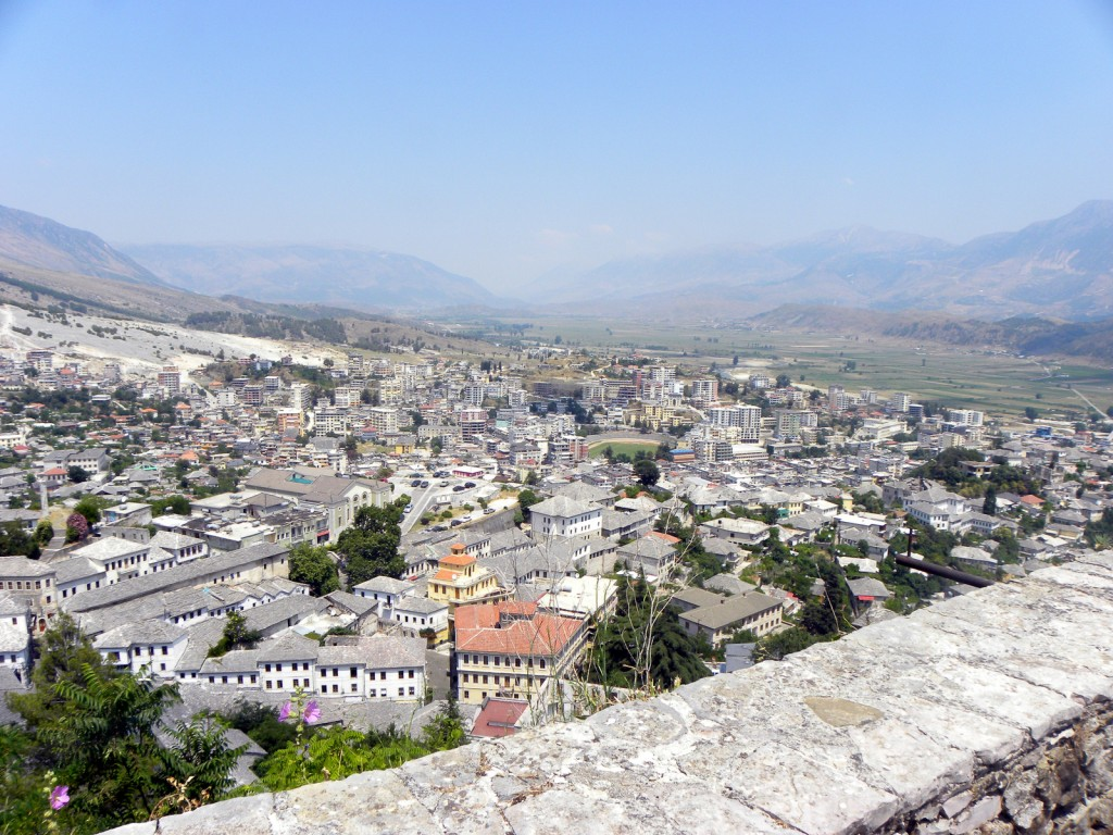 View from Gjirokastër Castle ©Mattias Hallberg
