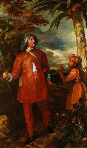 William Fielding, 1st Earl of Denbigh by Anthony van Dyck | © Pinterest