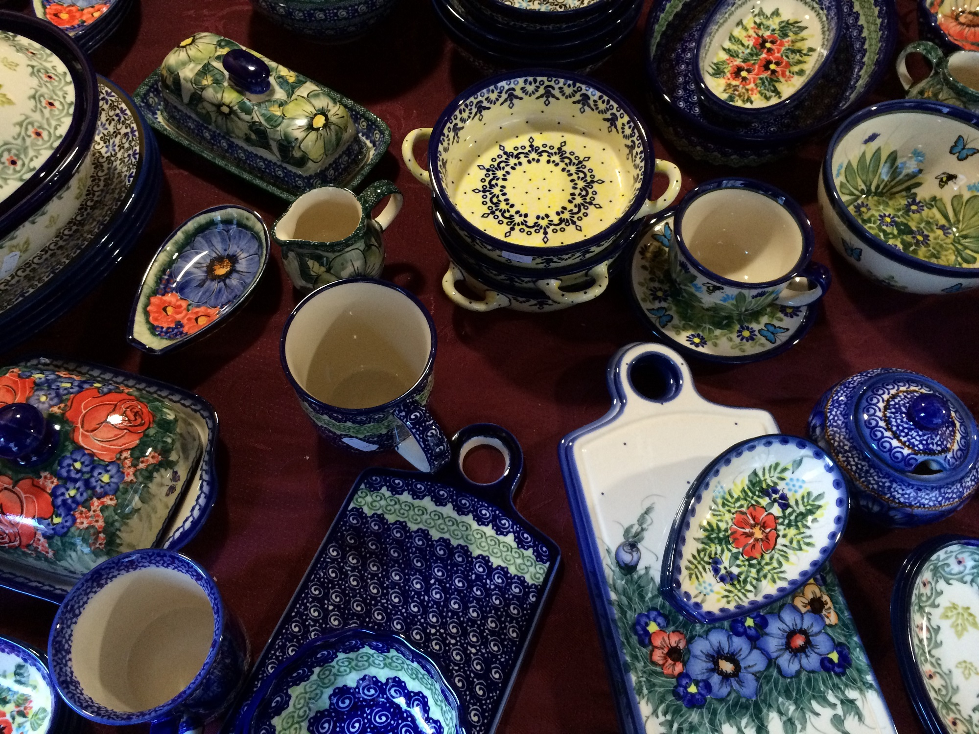 Pottery at Polish Handcrafts | © Benita Gingerella